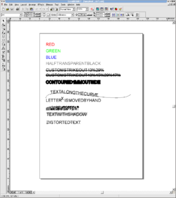 fancytext_cdr7.cdr in CorelDraw 7